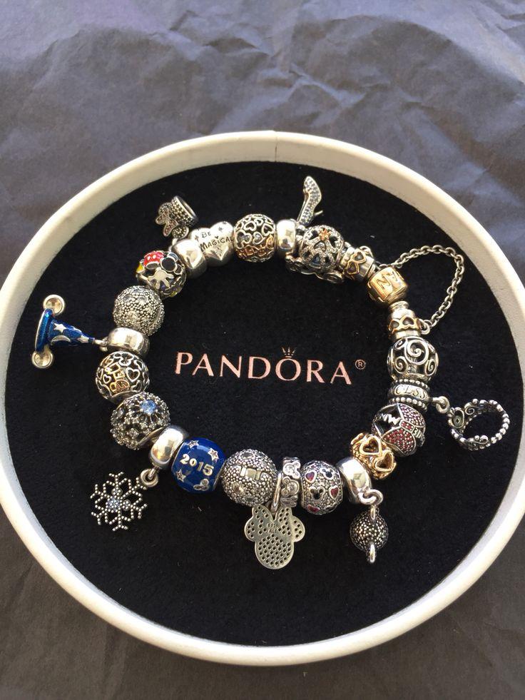 bracelet pandora argent disney